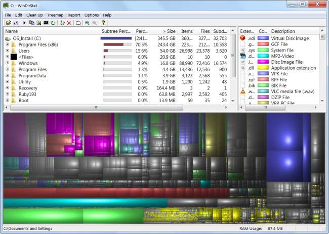 آنالیز هارد دیسک برای بهبود فضای پارتیشن ها