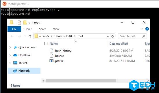 دسترسی به فایل های لینوکس در ویندوز
