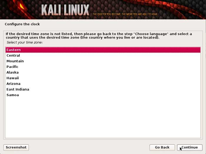 آموزش نصب لینوکس kali