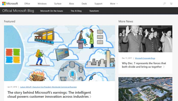 ساخت سایت وردپرس در مایکروسافت