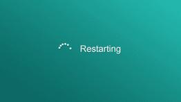 Reboot or Restart