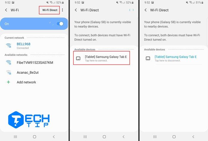 استفاده کردن از Wi-Fi Direct در اندروید Pie، Oreo و Nougat