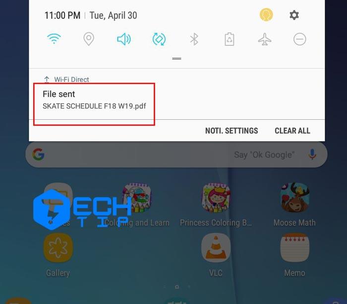 روش ارسال فایل با استفاده از Wi-Fi Direct بین دستگاه های سامسونگ