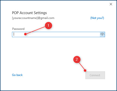 اموزش افزودن حساب outlook با POP3 یا IMAP در ویندوز