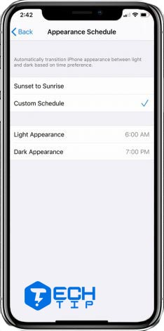 فعال کردن تم مشکی آیفون در iOS 13