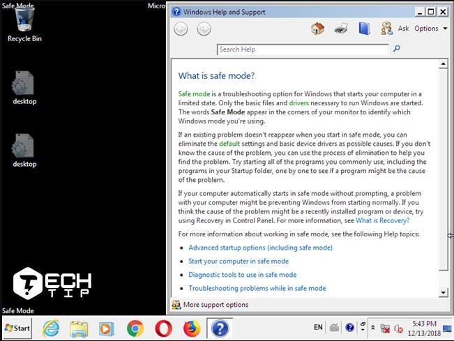 Safe Mode در ویندوز 10 و 7