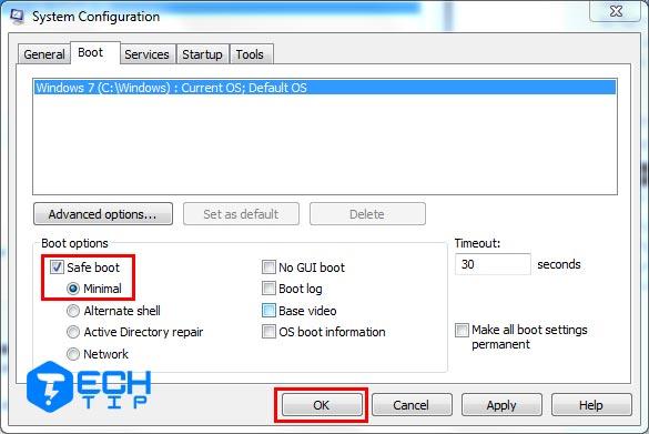 ابزار System Configuration برای راه اندازی ویندوز به safe mode