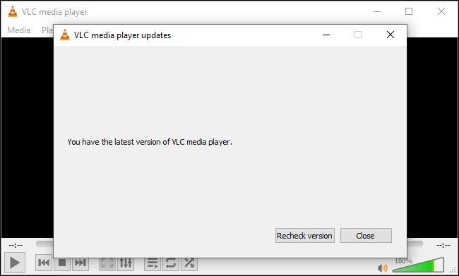 آموزش آپدیت کردن VLC در ویندوز