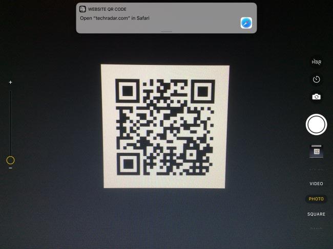 چگونه کد QR را در آیفون یا آیپد خود اسکن کنیم