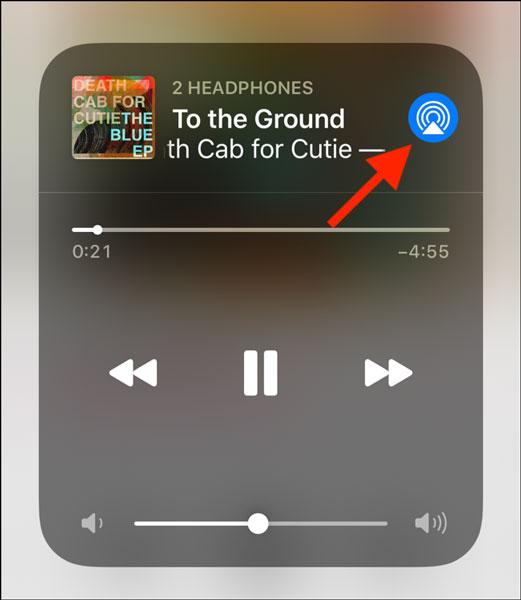آموزش پخش آهنگ در دو ایرپاد در آیفون