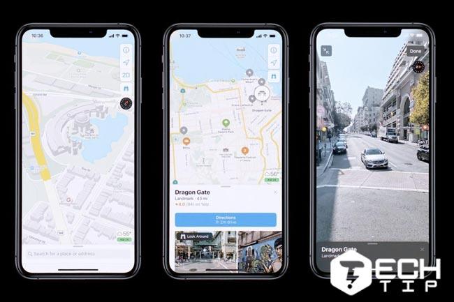 اپلیکیشن Maps در iOS 13