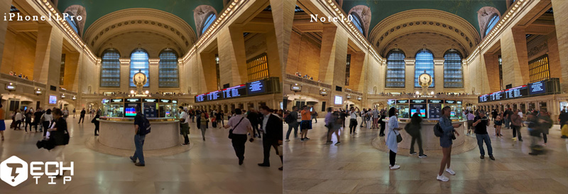دوربین آیفون Pro 11 و گلکسی Note 10