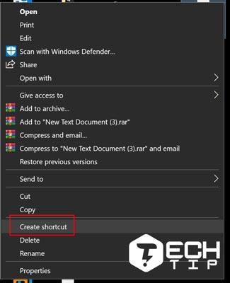 1. دسترسی سریع تر پوشه با استفاده از میانبر ویندوز 10