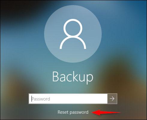 رمز ویندوز 10 خود از طریق صفحه ورود به سیستم تغییر دهید