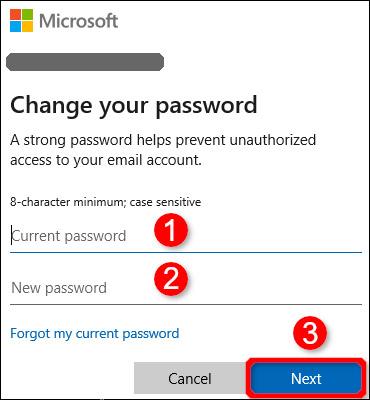 تغییر رمز عبور از طریق تنظیمات ویندوز 10