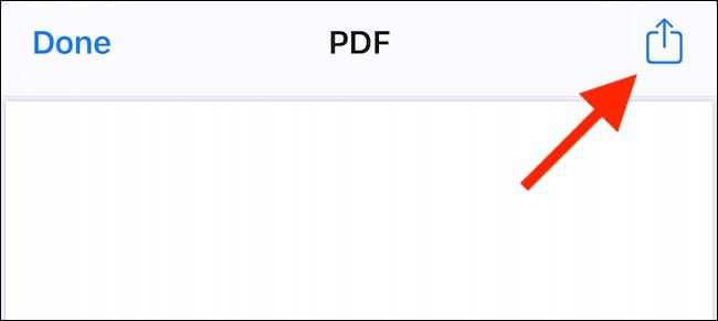 نحوه ذخیره وب سایت به عنوان PDF در ایفون و آیپد از تمام مرورگری
