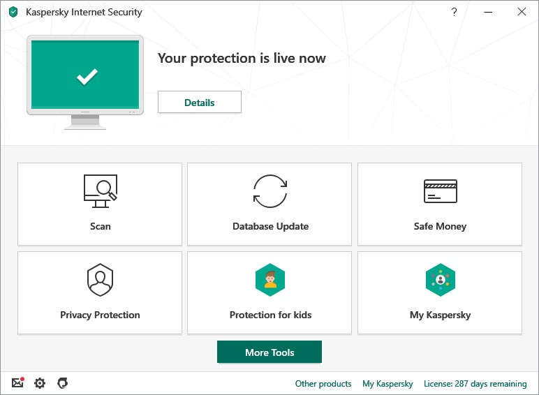 2.آنتی ویروسKaspersky Internet Security