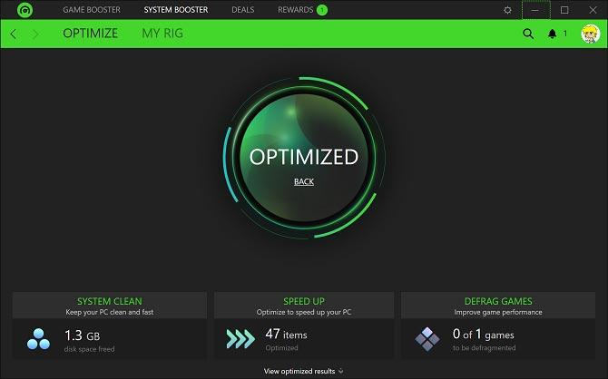 افزایش سرعت و کارایی هارد با Razer Cortex