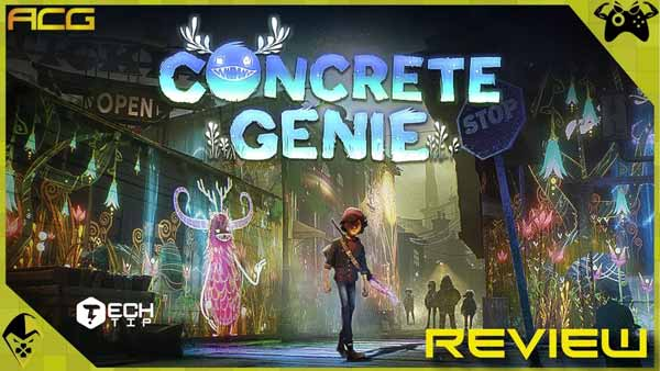 بازی Concrete Genie