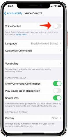 آموزش فعال کردنوویس کنترل در iOS 13