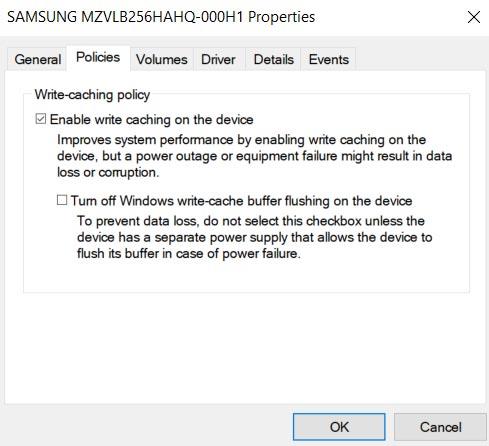 بالا بردن سرعت هارد با Windows Device Manager