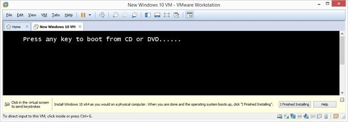 نصب سیستم عامل جدید روی وی ام ویر