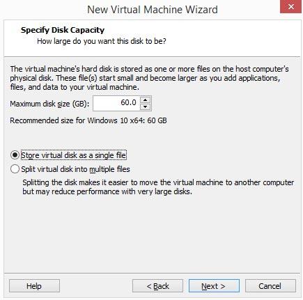 نصب سیستم عامل جدید روی vmware