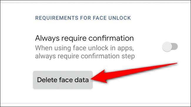 غیرفعال کردن قفل چهره گوگل پیکسل 4 و 4xl
