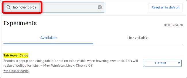 غیرفعال کردن کارت های شناور گوگل کروم