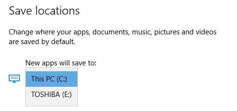تغییر مسیر پیشفرض نصب برنامه های ویندوز 10 (جدید)