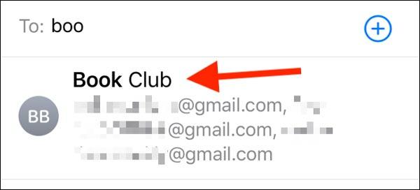 ارسال ایمیل گروهی در آیفون و آیپد