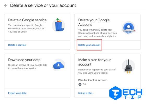 آموزش دیلیت کردن اکانت گوگل