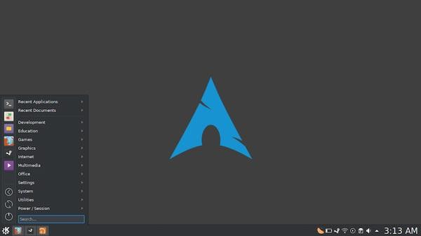 Arch Linux یک سیستم عامل مستقل و قدرتمند