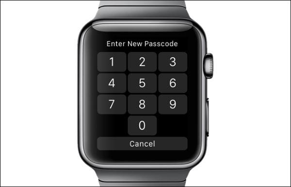 آموزش عوض کردن رمز اپل واچ