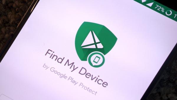 پیدا کردن گوشی (Find My Device)