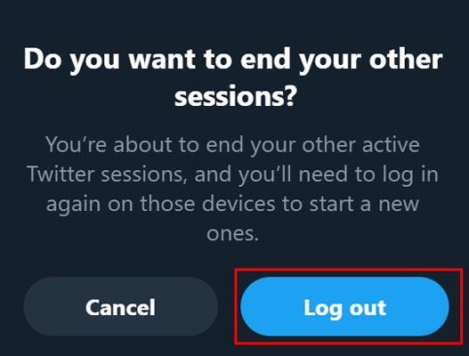 حذف کردن تمامی دستگاه ها از اکانت توییتر (نسخه وب و اپلیکیشن)