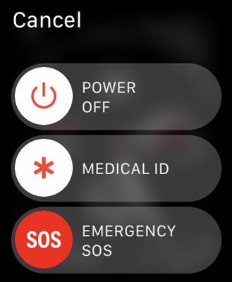 یک تماس اضطراری SOS در اپل واچ برقرار کنید