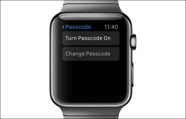 آموزش غیرفعال کردن رمز عبور اپل واچ