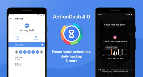 کاهش اعتیاد (ActionDash)