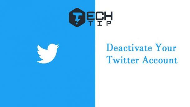 چگونه اکانت توییتر خود را غیرفعال کنیم ؟