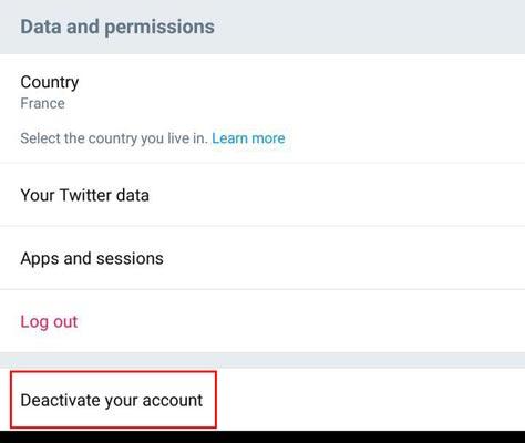 چگونه اکانت توییتر خود را غیرفعال کنیم