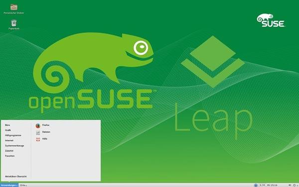 openSUSE یک سیستم عامل عملی و حرفه ای