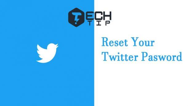 چگونه رمز اکانت یا حساب توییتر خود را ریست کنیم ؟