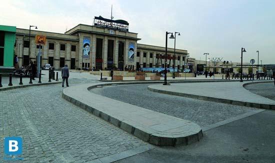 آشنایی با ساختمان ایستگاه و میدان راه آهن