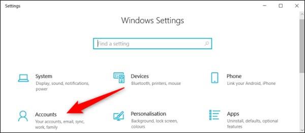 نام اکانت ویندوز 10 خود را با حساب مایکروسافت تغییر دهید