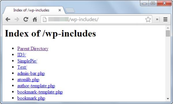 برای افزایش امنیت وردپرس قابلیت فهرست بندی را غیرفعال کنید