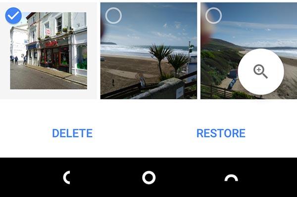 آموزش بازیابی عکس های حذف شده در گوگل فوتو
