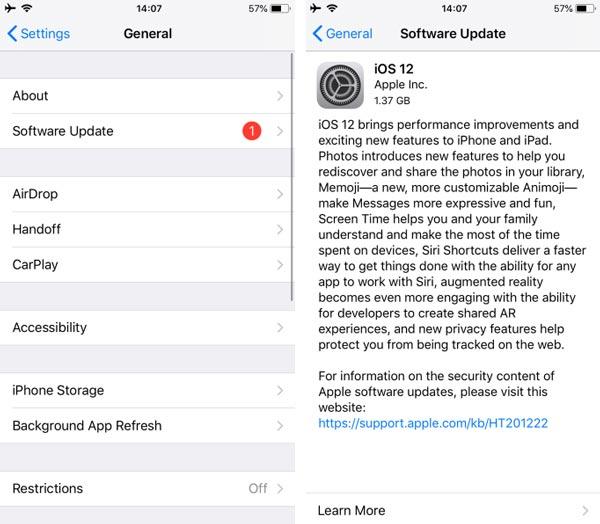 چگونه iOS را درآیفون آپدیت کنیم ؟