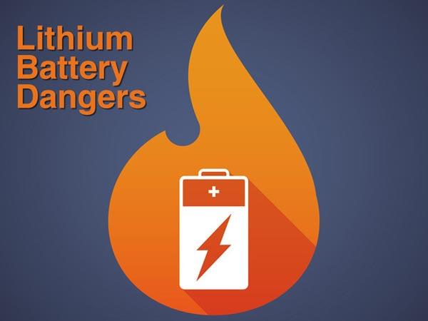 اما چرا باتری های لیتیومی خطرناک هستند ؟
