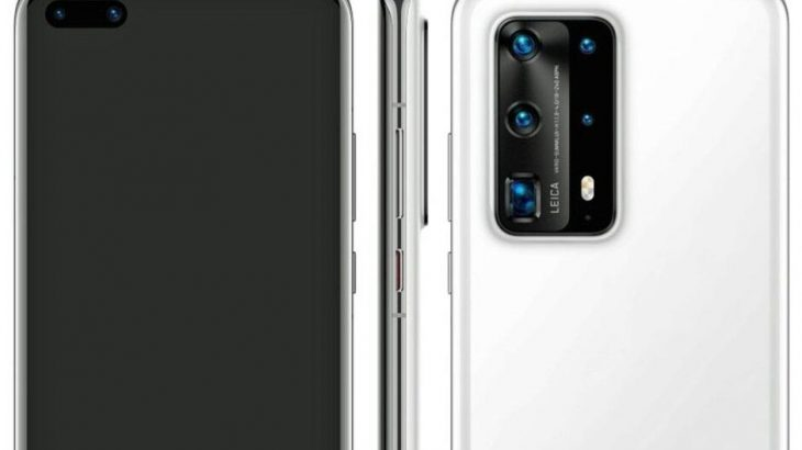 Premium-Huawei-P40-Pro-variant-leaks-with-five-cameras,-ceramic-back